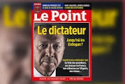 Erdogan, le Point, affiche, kiosque